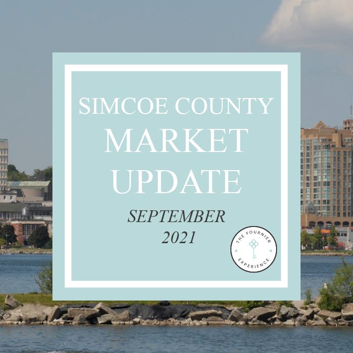 Simcoe County Real Estate Market Update September 2021 | The Fournier Experience Real Estate Team